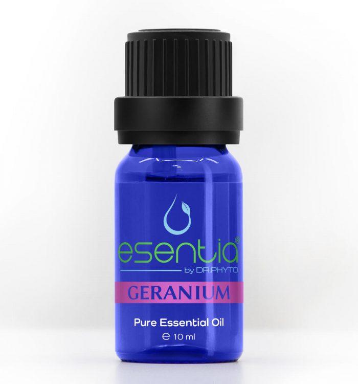 Ulei esențial de mușcată (Geranium) disponibil în România