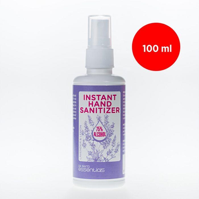 Igienizant pentru mâini cu alcool și uleiuri esențiale de lavandă și lămâie