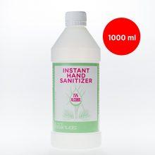 Igienizant de mâini cu uleiuri esențiale din pin și lemongrass